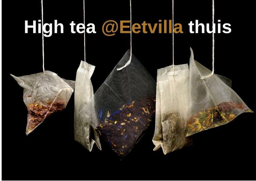 High tea voor thuis bij restaurant de Eetvilla in Soest en nabij Amersfoort.