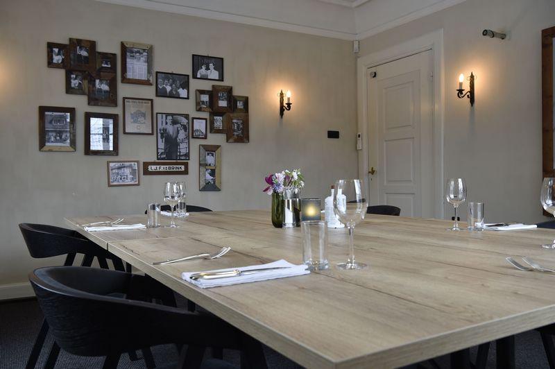 Private dining Baarn wanneer je graag in een privé omgeving lekker wil lunchen of dineren.