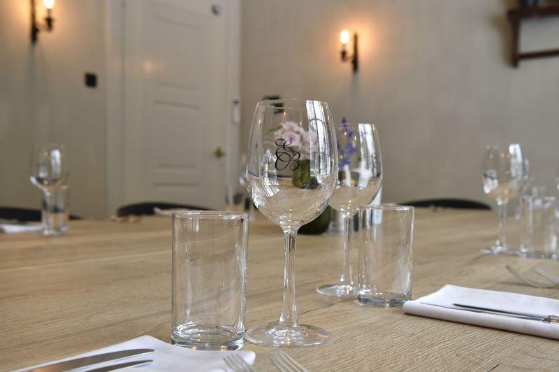 Private dining Amersfoort wanneer je graag in een privé omgeving lekker wil lunchen of dineren.